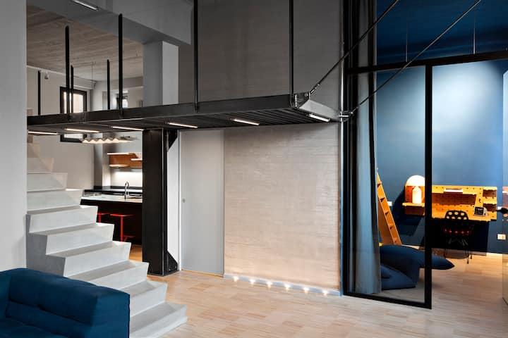 Appartamento Alto Design Vicino a Centro Città