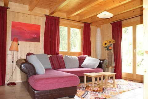 Chalet Le Petit Ruisseau, in a quiet location in Champex-Lac