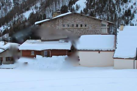 Appartement en montagne, au pied des pistes de ski - Arvieux - Apartment