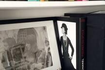 full of fashion books