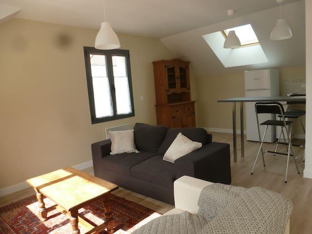 Appartement meublé 2 pièces en centre ville - Verneuil-sur-Seine - Apartament