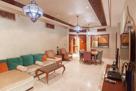431 Luxury 2 BD in Fairmont Residences Palm Jumeir - Dubai
