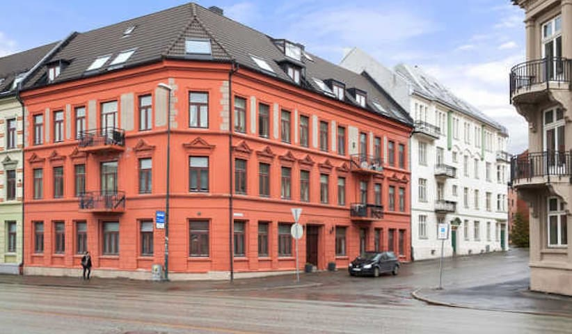 Cosy apartment close to St. Olavs, and city center
