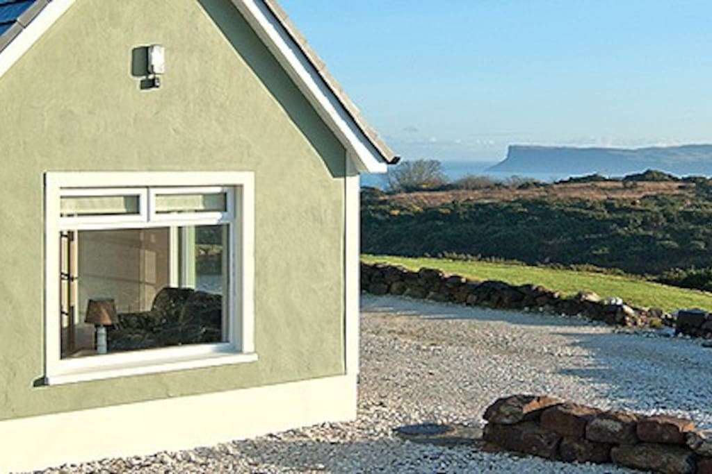 View from Crockatinney Cottages, towards Fairhead