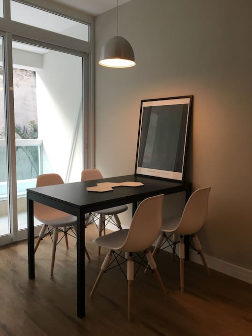 Dining space