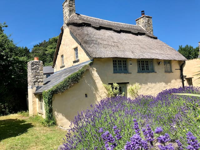 6 share - listed coastal historic thatched cottage
