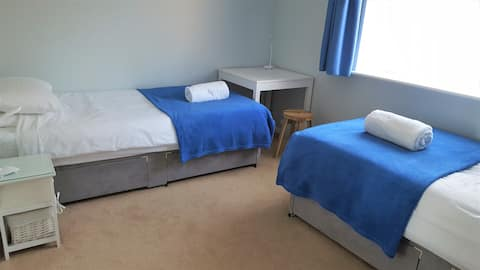 Private Double Room in Bedford House