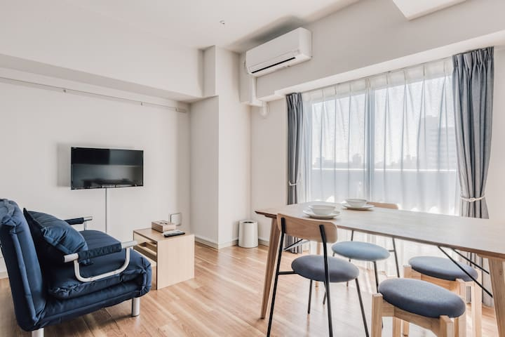Be an OSAKA FAMILY! Living+Dining APT/Shin-Osaka