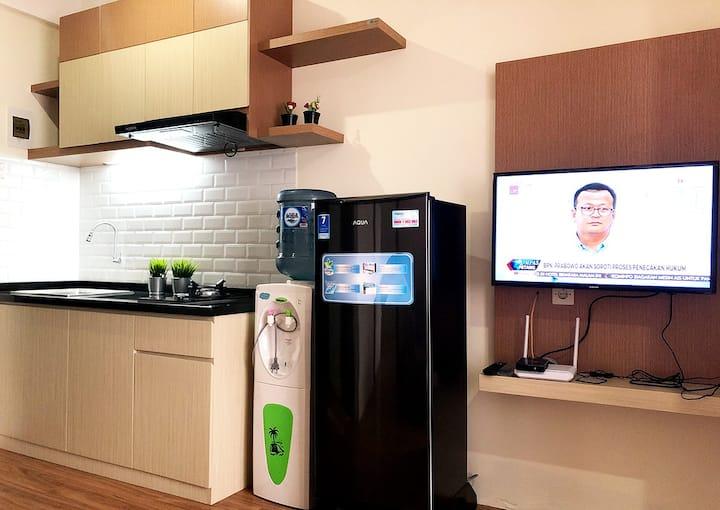 1 BR Modern Minimalist Apartment in Bandung City