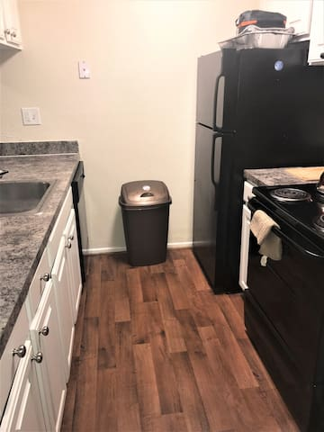 Fully available kitchen