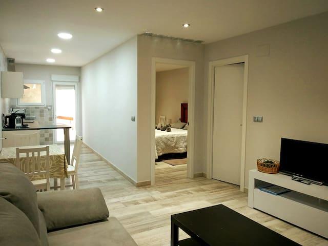 Apartamento espacioso y tranquilo