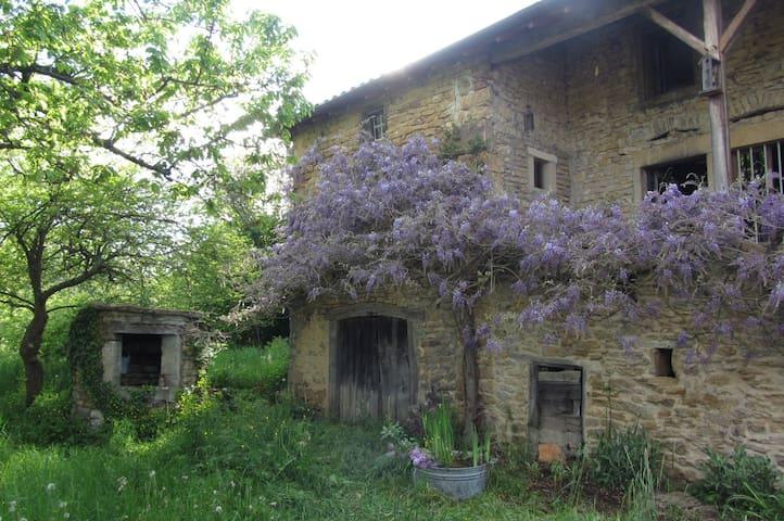 Vieille Ferme*Ecologique*  Cluny*15mins*TGV*20mins - Montagny-sur-Grosne - Casa cova