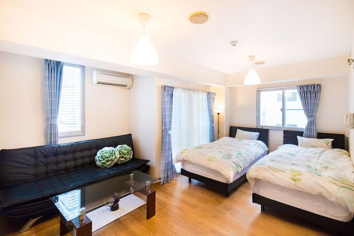 Direct Airport, Nanba Station walk 3min/B4