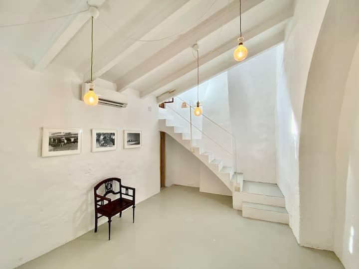 Casa romántica con confort moderno y WIFI (6 pers)