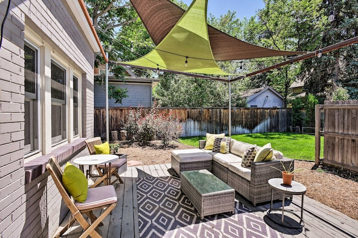 NEW! Chic Denver Home w/ Deck+Grill, 5 Mi to Dtwn!