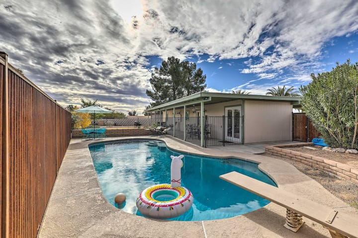 NEW! Tucson Oasis w/ Pool Near Saguaro Nat'l Park!