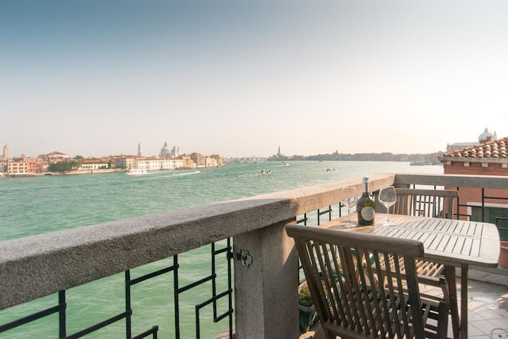 Magic terrace with view on Venice - Venice
