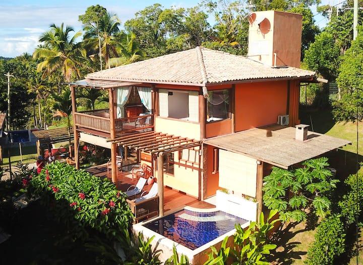 Itacarebangalo. Linda casa em Itacaré - Bahia
