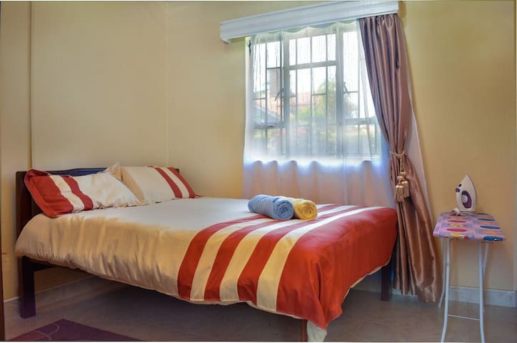 Bright and comfortable bedroom