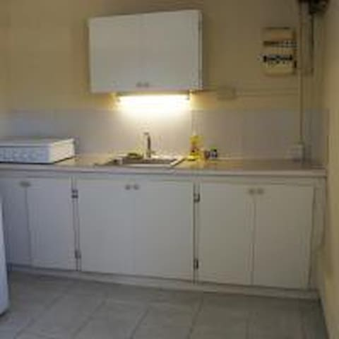 This is a one bedroom apartment in a building