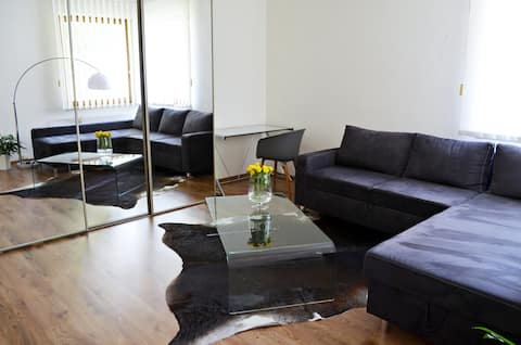 Modern, quiet apartment near the city centre