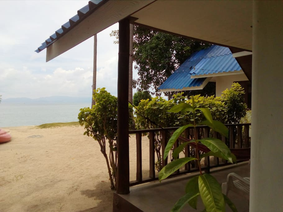 AC Beach Front Bungalow - View