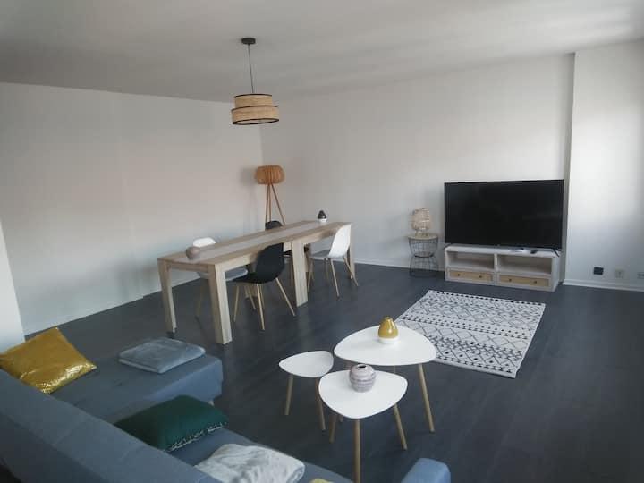 Chambre dans duplex 116 m2 proche centre Clermont