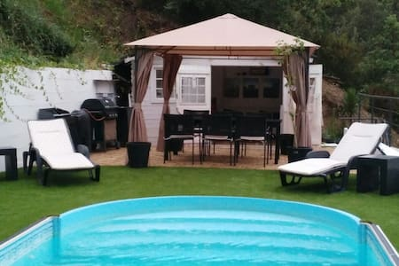 House with pool & barbecue at 25 km from Barcelona - Castellar del Vallès (Sant Feliu del Racò) - Hus