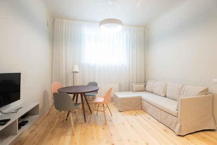 Stabu #2 ⭐️ Bright 1-bdrm. Centre. 2 bikes to rent