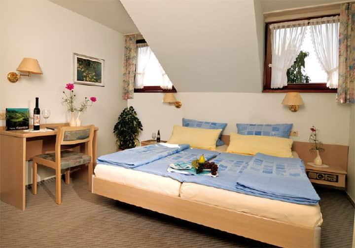 Haus Rebland, (Endingen am Kaiserstuhl), Doppelzimmer mit WC und Dusche