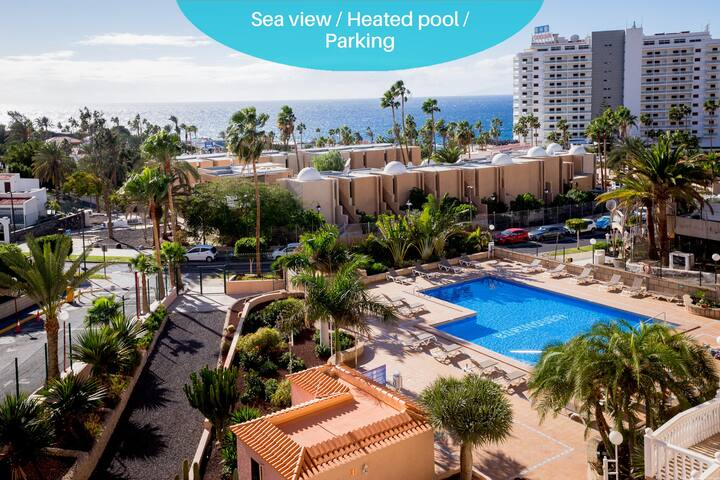 GO2TENERIFE Apart'Mira Balcony w/ sea view & Pool