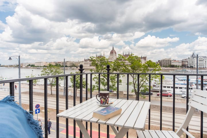Fantastic view to Danube/Parliament - Budapest - Appartement