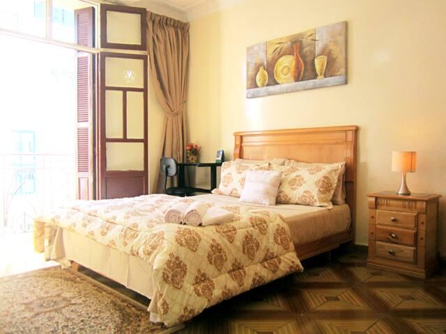 Artistic, Inspiring and Relaxing Flat in Maârif.