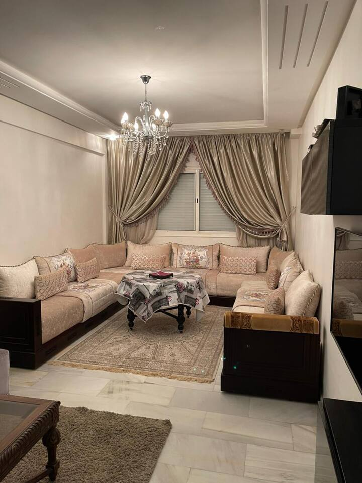 Modern & Comfy 2 BR in the heart of Casablanca