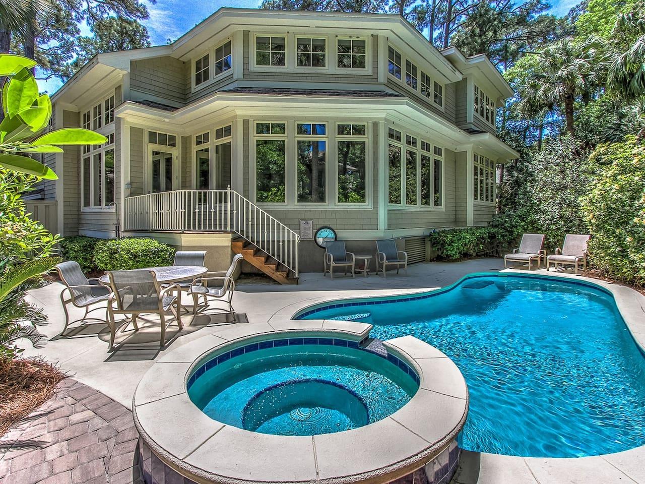 21 Ruddy Turnstone - Beautiful 5 bedroom Vacation Home in Sea Pines