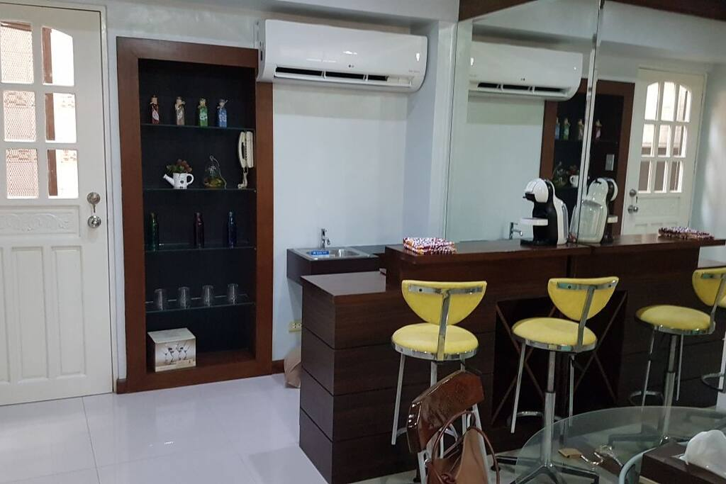 First floor mini bar