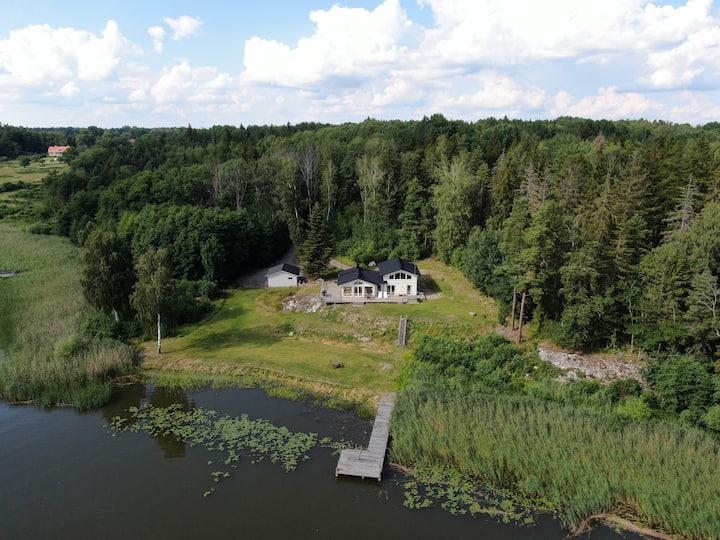 Lakeside house near Strängnäs