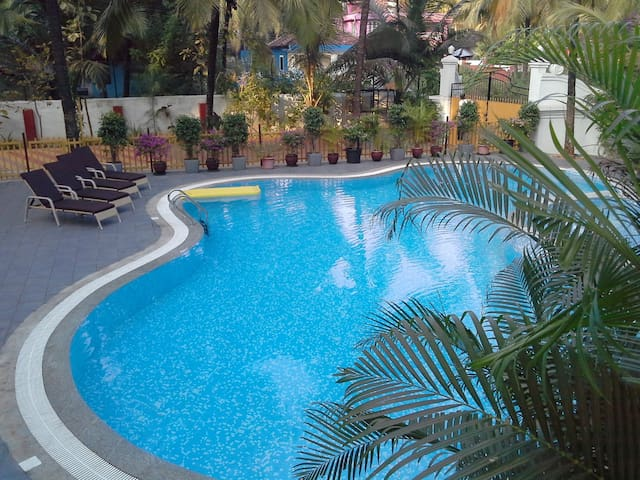 1BHK Nuclear Family Apartment 5 minutes to Beach - Colva - Apartment