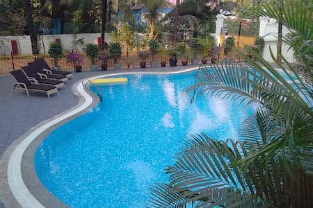 1BHK Nuclear Family Apartment 5 minutes to Beach - Colva