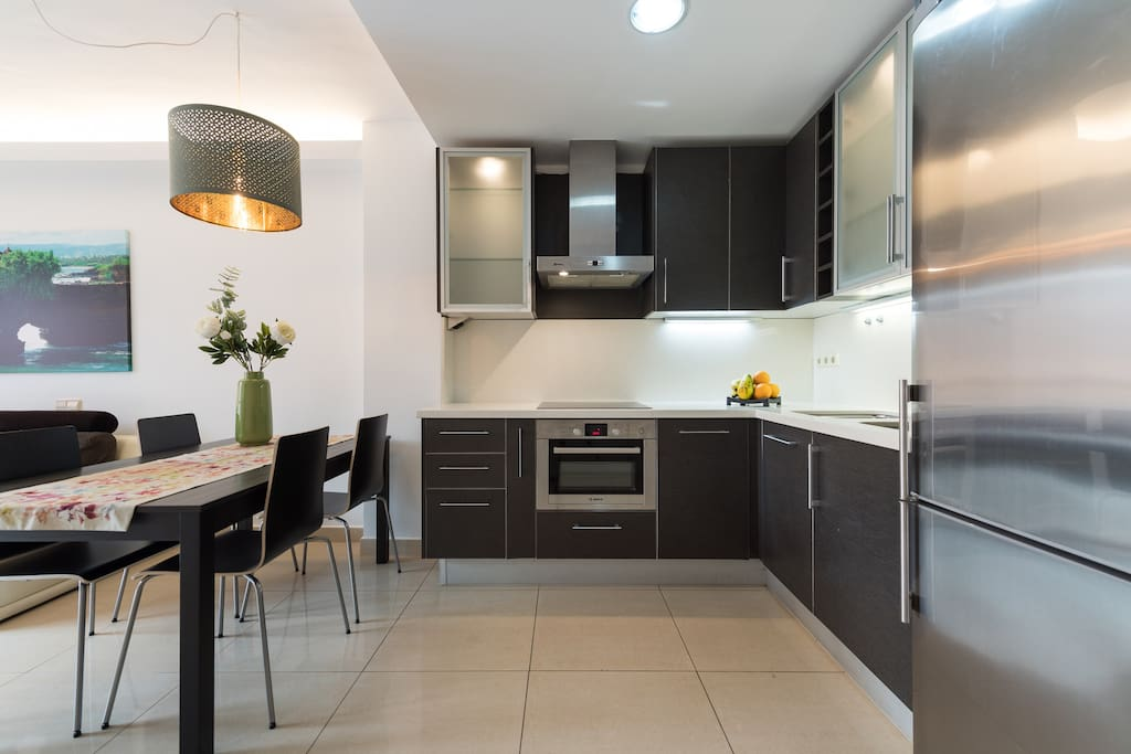 Spacious and full equipped kitchen