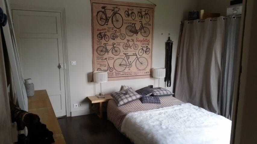 Chambre avec sdb et wc privés à deux pas de Lille