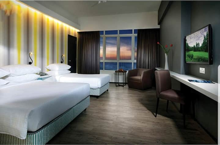 Genting Superior deluxe room-高级三人房