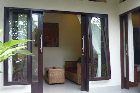 1 BR house in traditional Balinese compound - Tegallalang - Talo