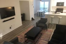Open concept - living / dining