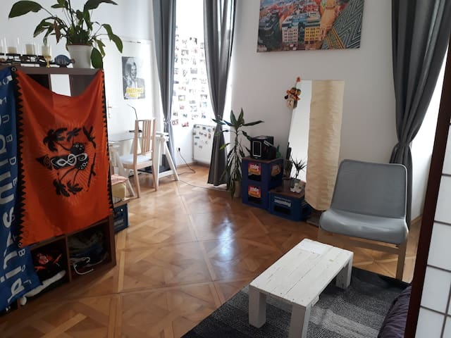Big room++nice flat++best location!