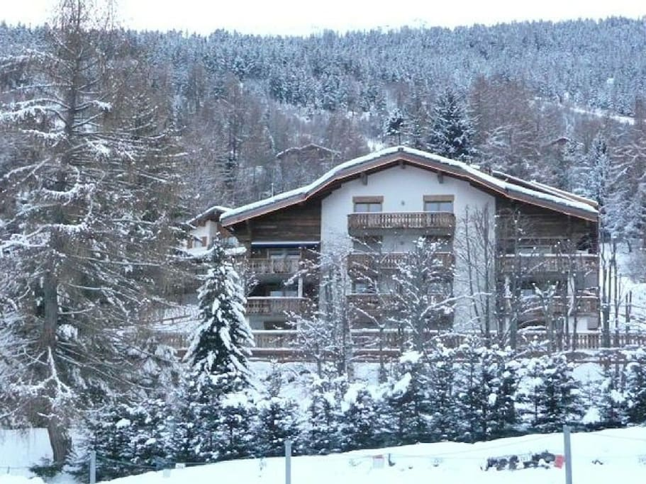 view of chalet