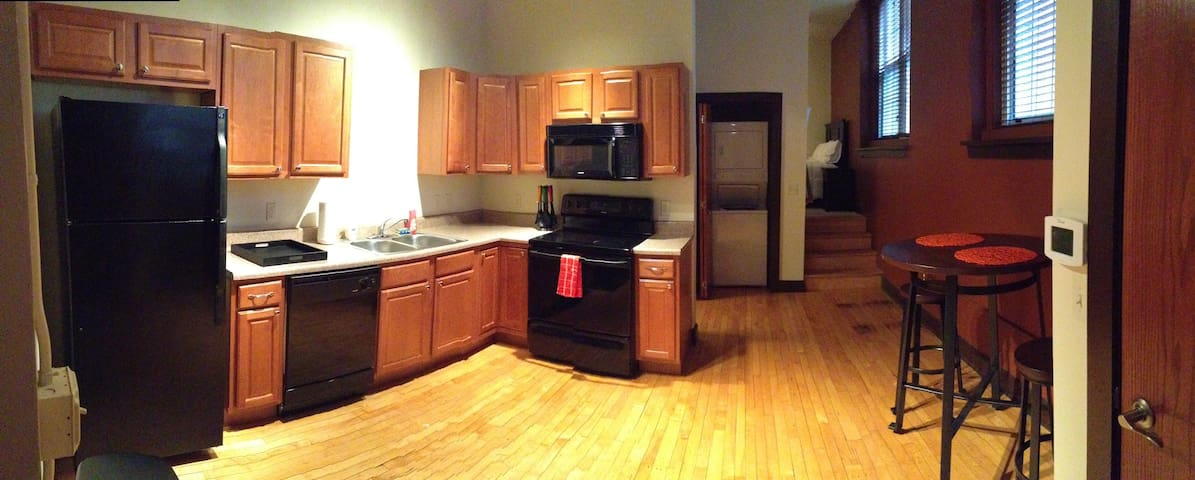1-bdrm apartment in Old Town / Downtown - Wichita - Apartamento