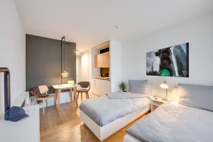 Serviced Apartment - Studio Twin in Karlshorst
