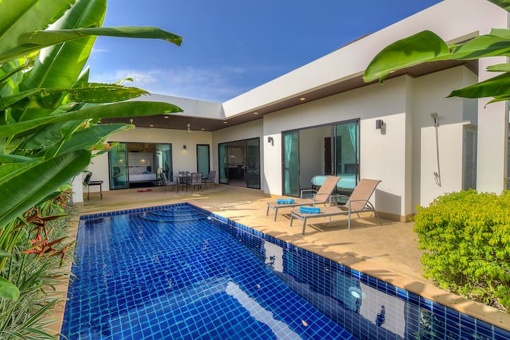 Elegant Boutique Pool Villa 2br
