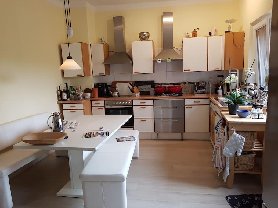 Wohnküche, voll ausgestattet, für die, die es nicht lassen können